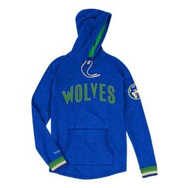 save off 89a78 3a2a2 Fleece - Minnesota Timberwolves Throwback Apparel & Jerseys ...
