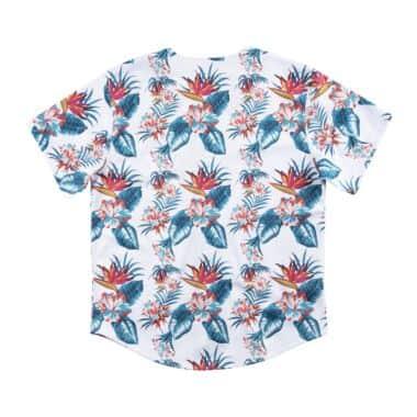 Floral Mesh Button Front Golden State Warriors - Shop Mitchell