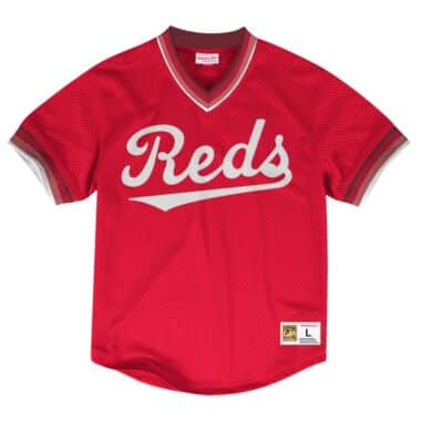 sale retailer b4dee 592ca Cincinnati Reds Throwback Apparel & Jerseys | Mitchell ...