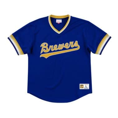 new style 719d7 5277f Milwaukee Brewers Throwback Apparel & Jerseys   Mitchell ...