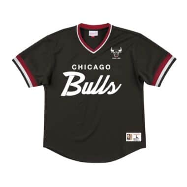 first rate 96529 69d24 Wordmark Mesh V-Neck Chicago Bulls - Shop Mitchell & Ness ...