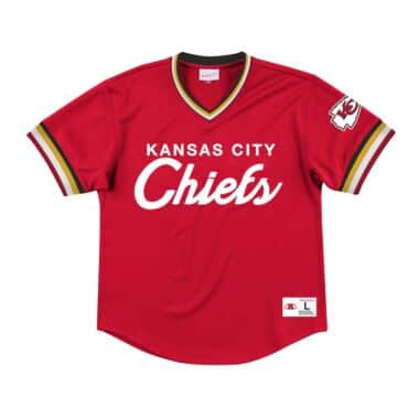 online retailer d29cb a38b1 Kansas City Chiefs Throwback Apparel & Jerseys | Mitchell ...