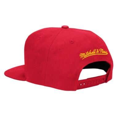 a3646b52d Basic Logo Snapback Hat Houston Rockets Mitchell & Ness Nostalgia Co.
