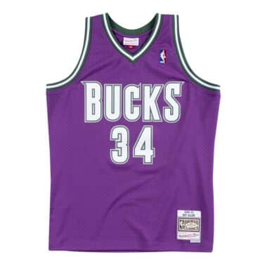 sale retailer b4395 be446 Milwaukee Bucks Throwback Apparel & Jerseys | Mitchell ...