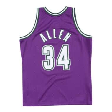 newest eaef5 c7686 Swingman Jersey Milwaukee Bucks 2000-01 Ray Allen