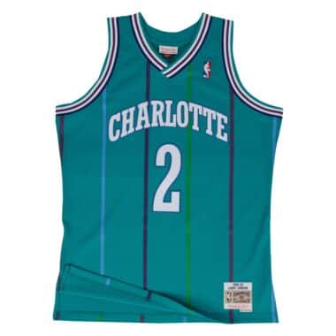 new style 87dbf 5fb19 Charlotte Hornets Throwback Apparel & Jerseys | Mitchell ...