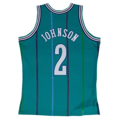 new style eb217 f6cea Charlotte Hornets Throwback Apparel & Jerseys | Mitchell ...