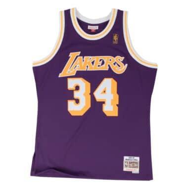 brand new c29f2 78fcf Swingman - Los Angeles Lakers Throwback Apparel & Jerseys ...