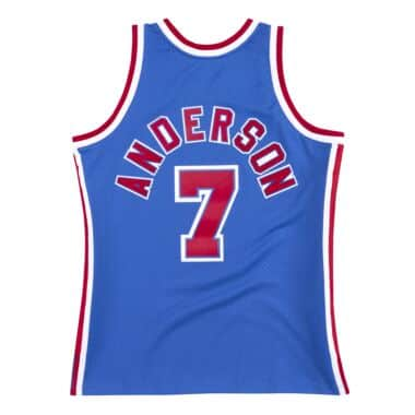 super popular 16a06 9994b New Jersey Nets Throwback Apparel & Jerseys | Mitchell ...