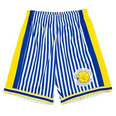 Striped Swingman Short Golden State Warriors 1990-91