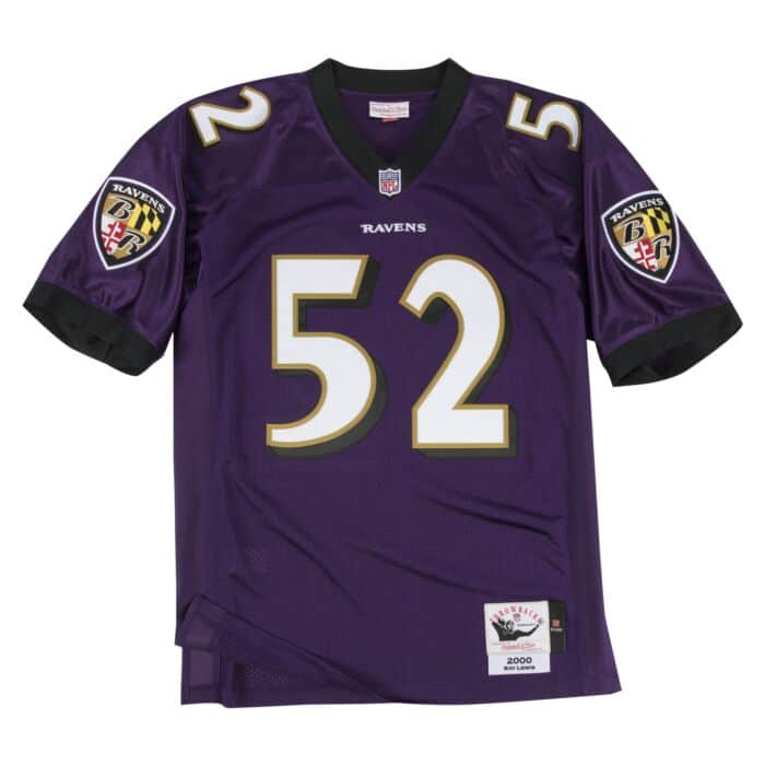 Ray Lewis Authentic Jersey 2000 Baltimore Ravens Mitchell Ness Nostalgia Co