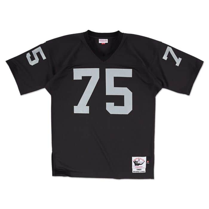 Howie Long 1983 Authentic Jersey Los Angeles Raiders