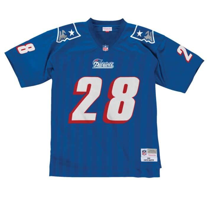 Curtis Martin 1996 New England Patriots Legacy Jersey