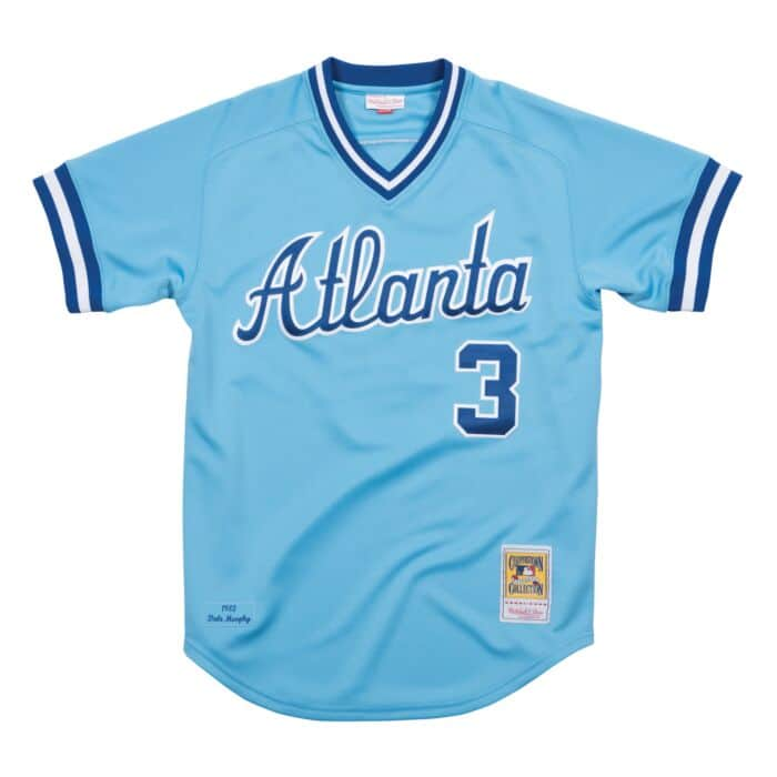 Dale Murphy 1982 Road Authentic Jersey Atlanta Braves