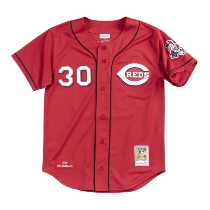 Authentic Jersey Cincinnati Reds Alternate 2005 Ken Griffey Jr.