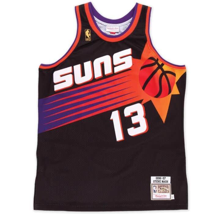Authentic Steve Nash Phoenix Suns Road 1996-97 Jersey