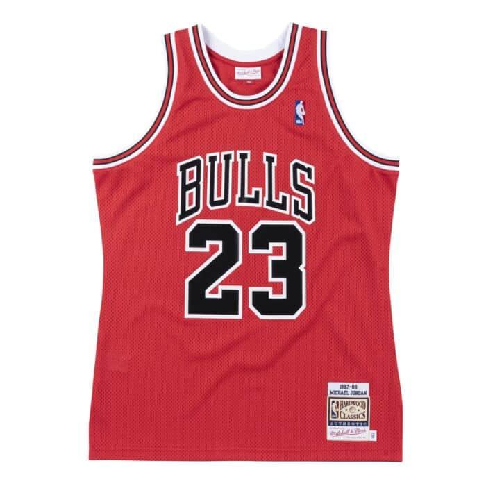 Authentic Jersey Chicago Bulls 1987-88 Michael Jordan