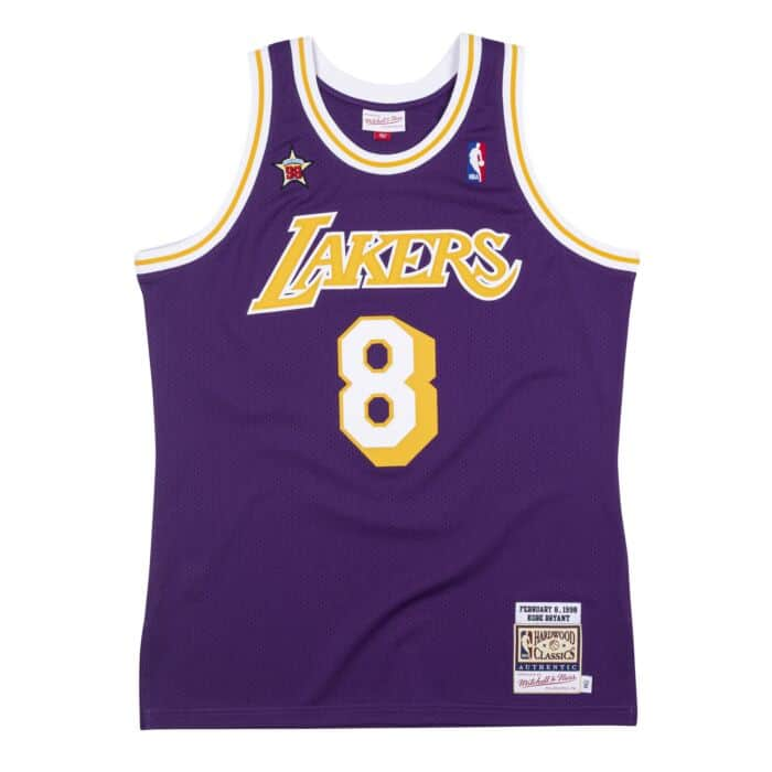 Authentic Jersey All-Star West 1998 Kobe Bryant