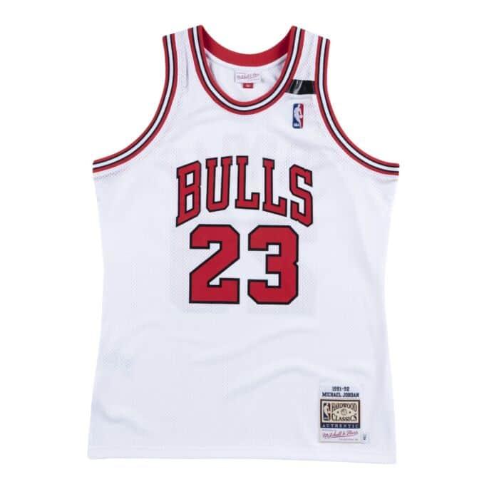 Authentic Jersey Chicago Bulls 1991-92 Michael Jordan