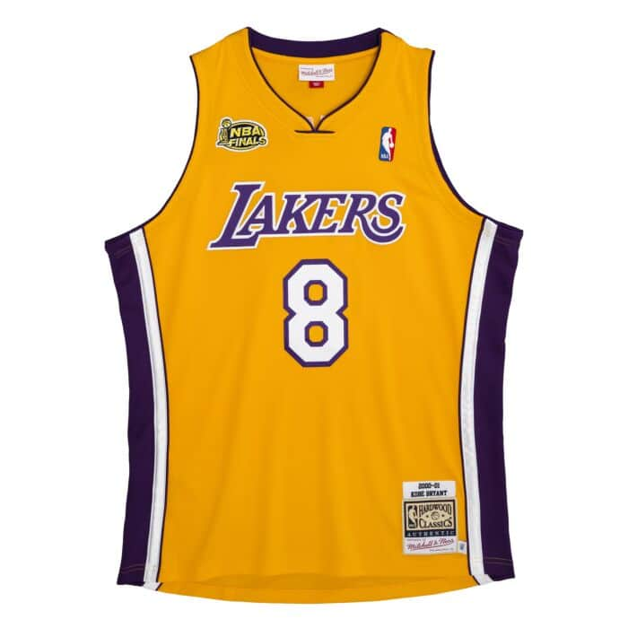 Authentic Kobe Bryant Los Angeles Lakers 2000-01 Jersey