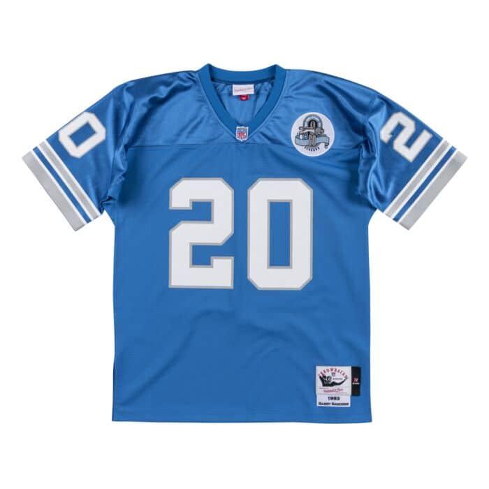 Authentic Jersey Detroit Lions 1993 Barry Sanders
