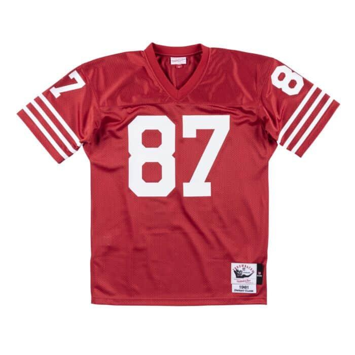 Authentic Jersey San Francisco 49ers 1981 Dwight Clark