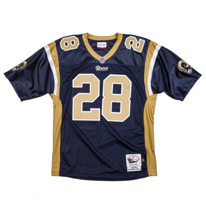 Authentic Marshall Faulk St. Louis Rams Jersey