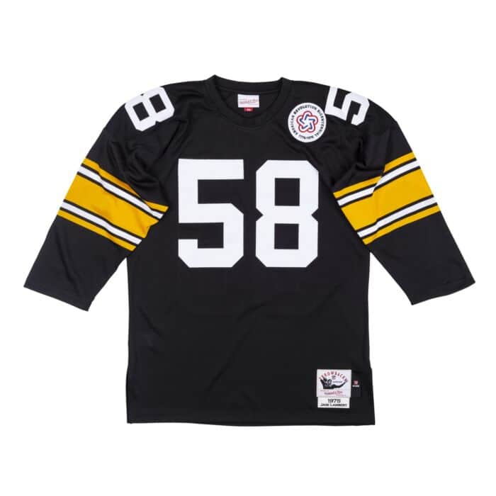 Authentic Jersey Pittsburgh Steelers 1975 Jack Lambert