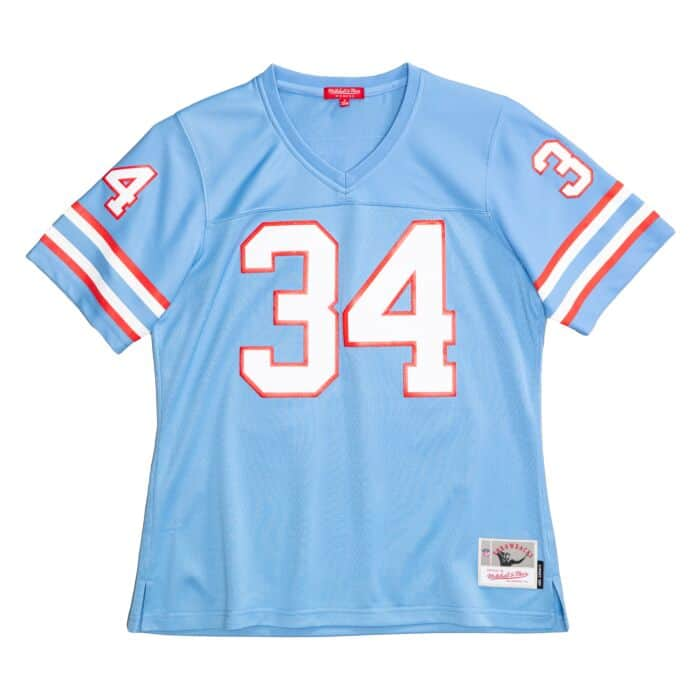 Women S Legacy Earl Campbell Houston Oilers Jersey Shop Mitchell Ness Authentic Jerseys And Replicas Mitchell Ness Nostalgia Co