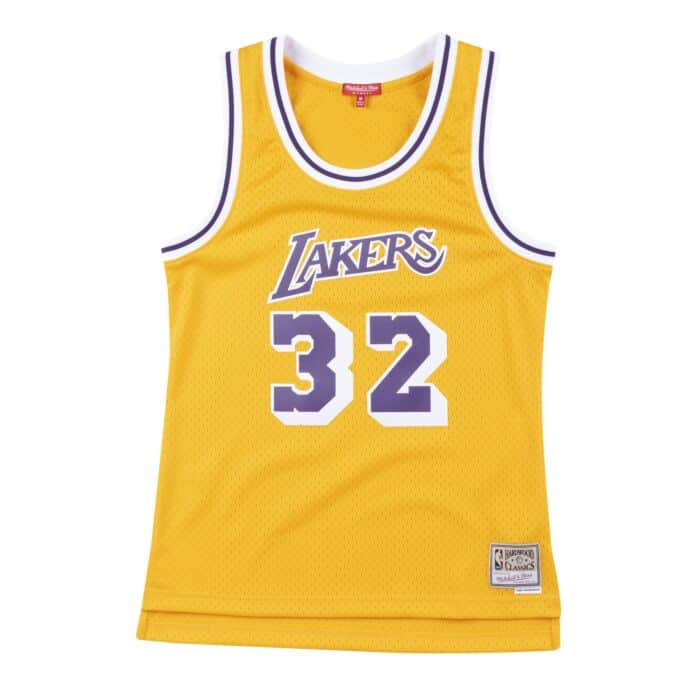 Women's Swingman Jersey Los Angeles Lakers 1984-85 Magic Johnson