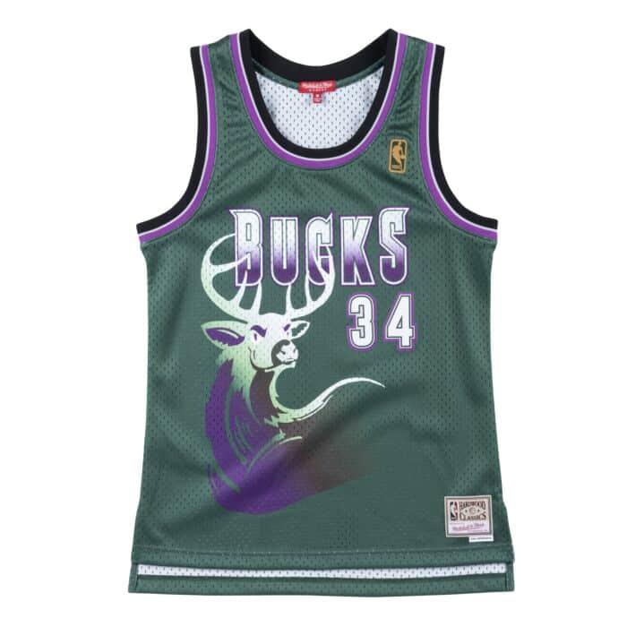 Women's Swingman Jersey Milwaukee Bucks 1996-97 Ray Allen