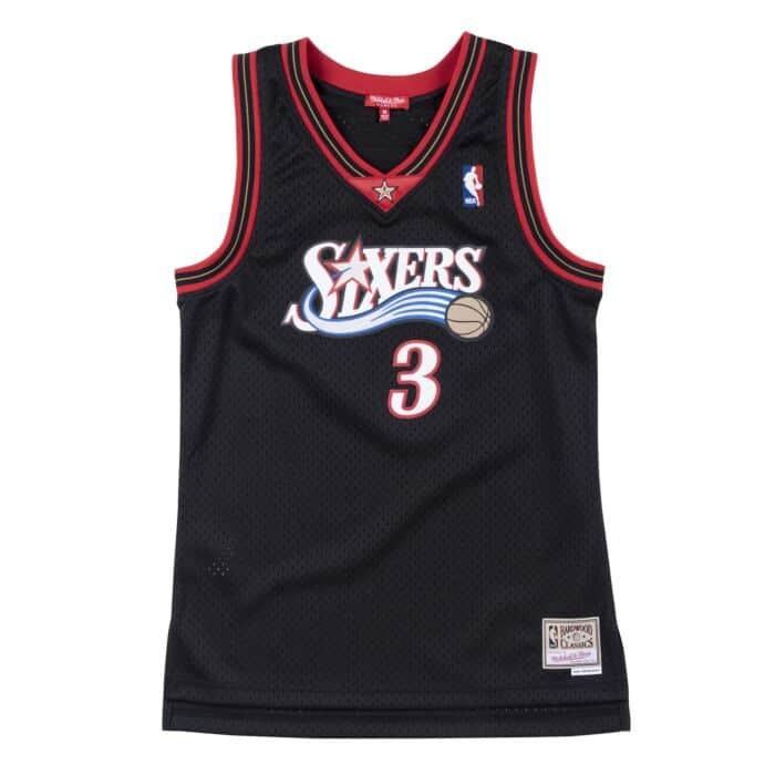 Women's Swingman Jersey Philadelphia 76ers 2000-01 Allen Iverson