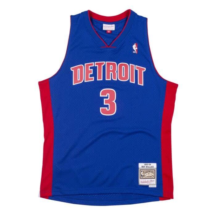 Swingman Jersey Detroit Pistons 2003-04 Ben Wallace