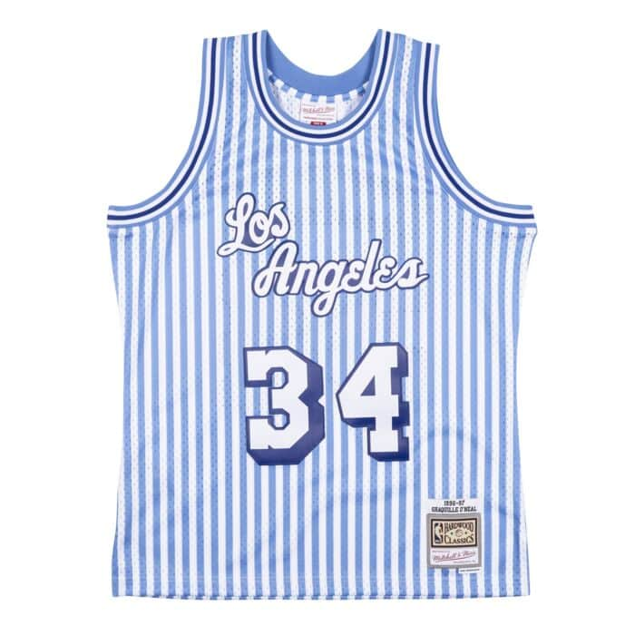Mitchell /& Ness Swingman Alternate Jersey LA Lakers 1996-97 Shaquille ONeal royal