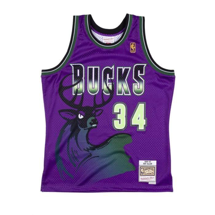 Reload Swingman Ray Allen Milwaukee Bucks 1996-97 Jersey