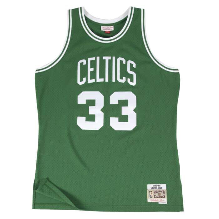 Mitchell /& Ness Swingman Larry Bird Boston Celtics 85//86 Trikot