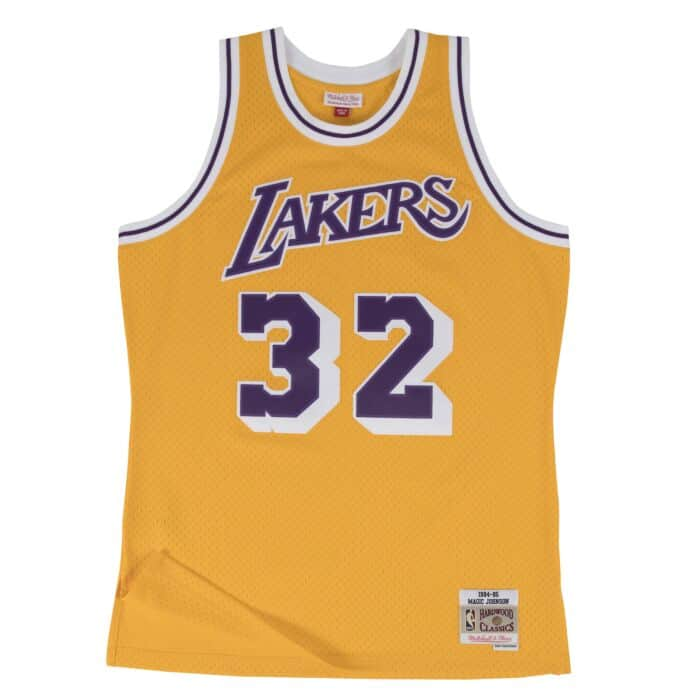Swingman Jersey Los Angeles Lakers Home 1984-85 Magic Johnson