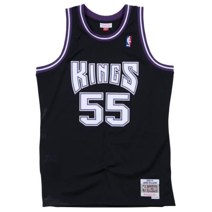 Swingman Jersey Sacramento Kings Road 2000-01 Jason Williams