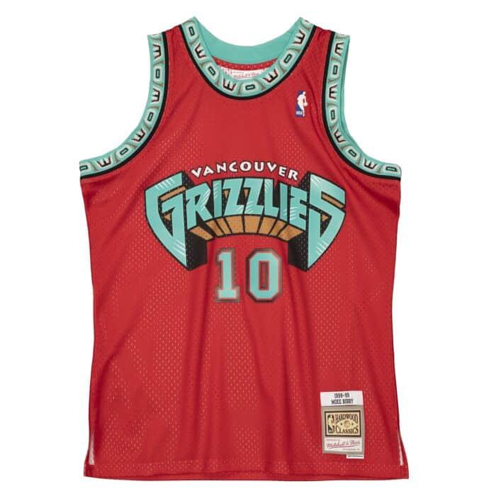 Swingman Mike Bibby Vancouver Grizzlies 1998-99 Jersey