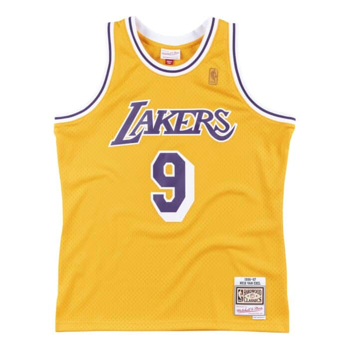 Swingman Jersey Los Angeles Lakers 1996-97 Nick Van Exel