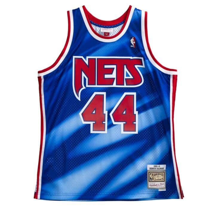 Swingman Jersey New Jersey Nets 1990-91 Derrick Coleman