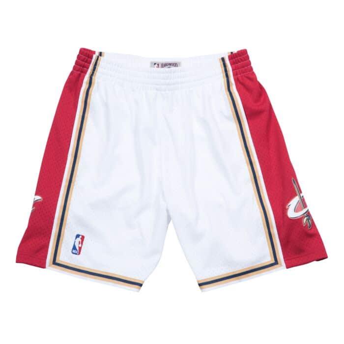 WTPB Cleveland Shorts Statement Swingman Basketball Shorts Red Away Trikot Cavaliers FeuchtigkeitstranDraussenierende Draussentechnologie Stoff Schnelle