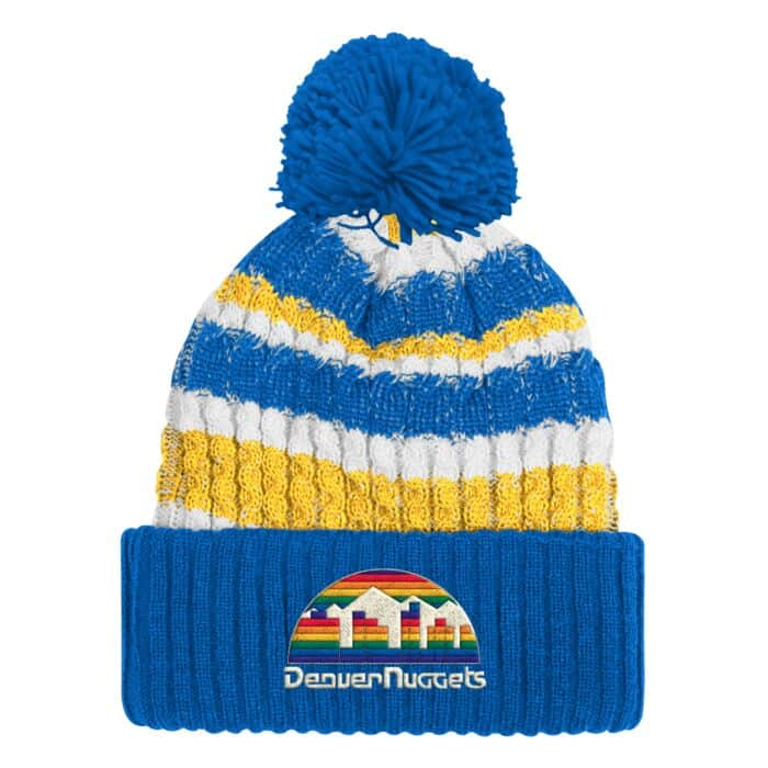 on sale e21bc 8d9b4 Irish Sweater Knit Denver Nuggets - Shop Mitchell & Ness ...