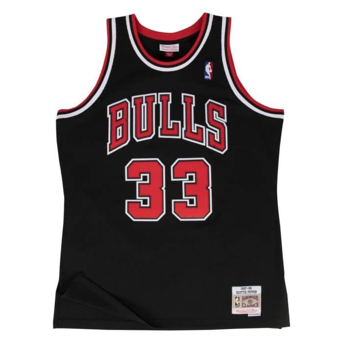 buy popular 23da2 37bf1 Scottie Pippen Swingman Jersey Chicago Bulls Mitchell & Ness ...