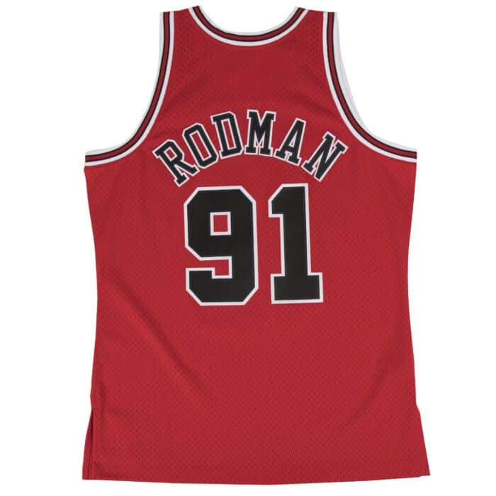 free shipping a4f8f 7c9ea Dennis Rodman Swingman Jersey Chicago Bulls Mitchell & Ness ...
