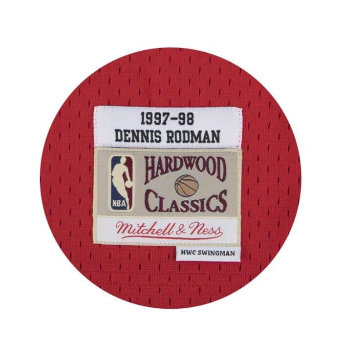 free shipping 9d640 3c639 Dennis Rodman Swingman Jersey Chicago Bulls Mitchell & Ness ...