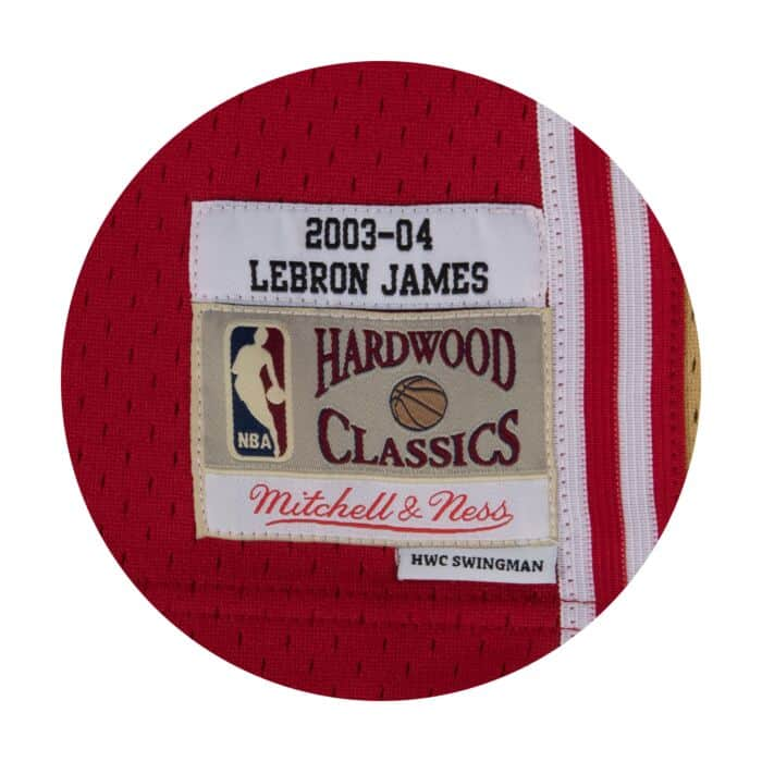 timeless design e0fa0 9ecef LeBron James Swingman Jersey Cleveland Cavaliers Mitchell ...