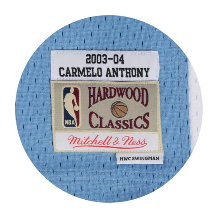 official photos b48b3 84840 Carmelo Anthony Swingman Jersey Denver Nuggets Mitchell ...