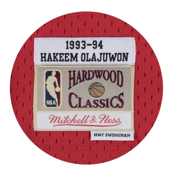 promo code 79de5 ed30b Hakeem Olajuwon Swingman Jersey Houston Rockets Mitchell ...