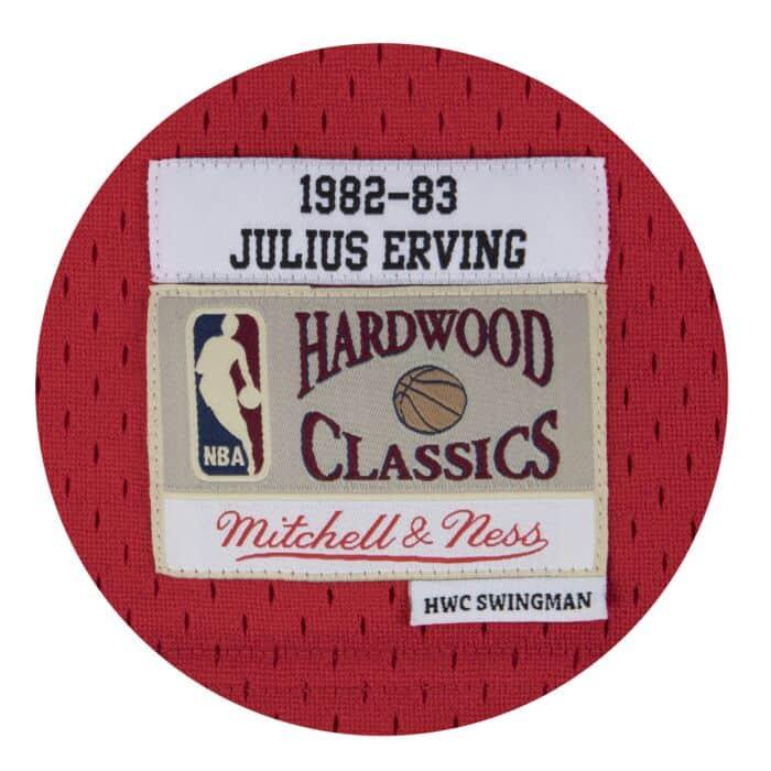 best loved aea28 dad43 Julius Erving Swingman Jersey Philadelphia 76ers Mitchell ...
